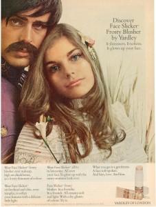 Vintage 1968 Yardley Face Slicker ad Patsy Sullivan