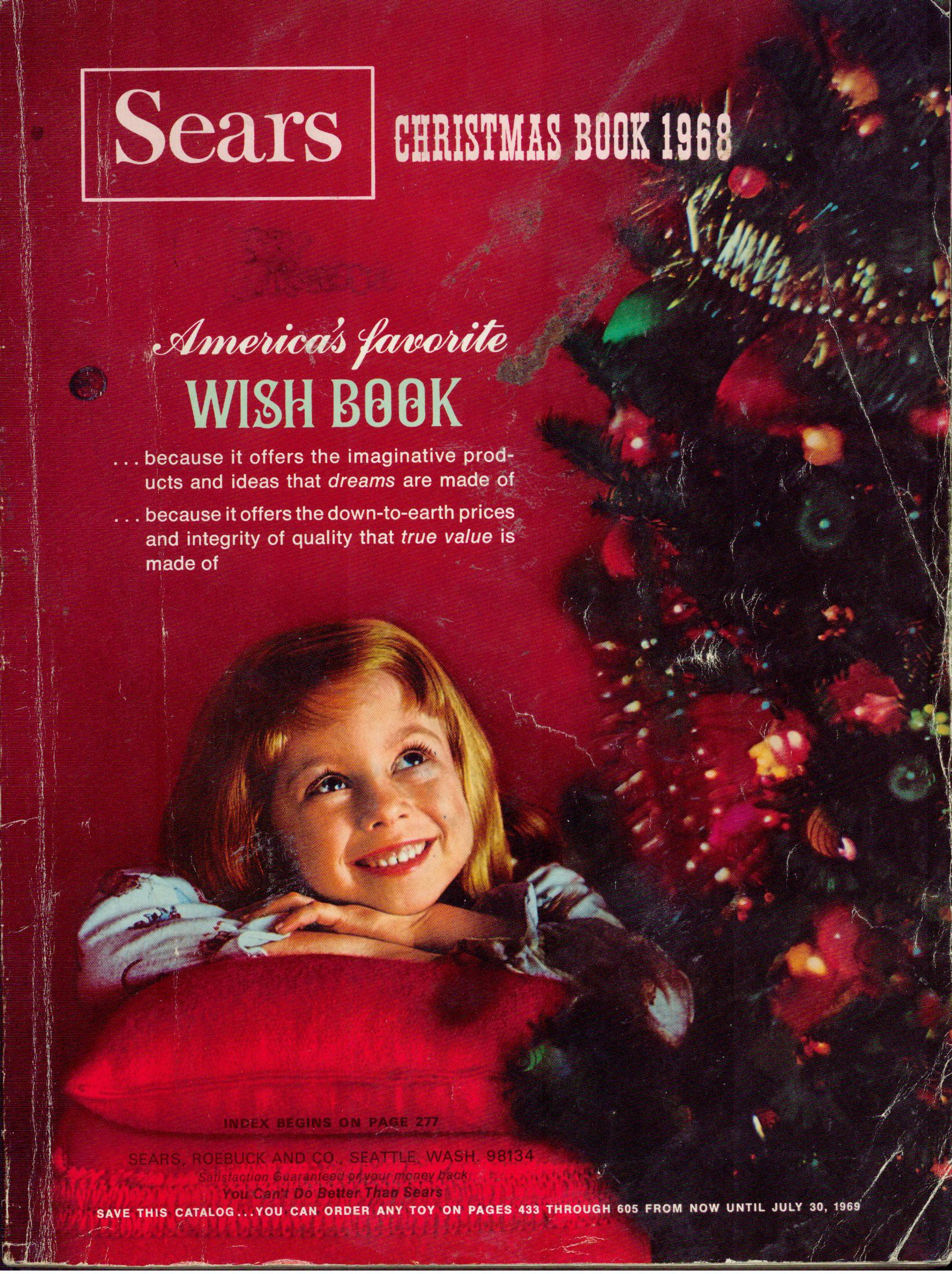 Musings From Marilyn 187 Sears Christmas Wish Book 1968 My