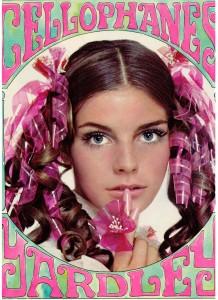 Yardley of London Cellophanes ad 1969 Patsy Sullivan