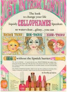 Yardley of London vintage 1969 cellophanes ad