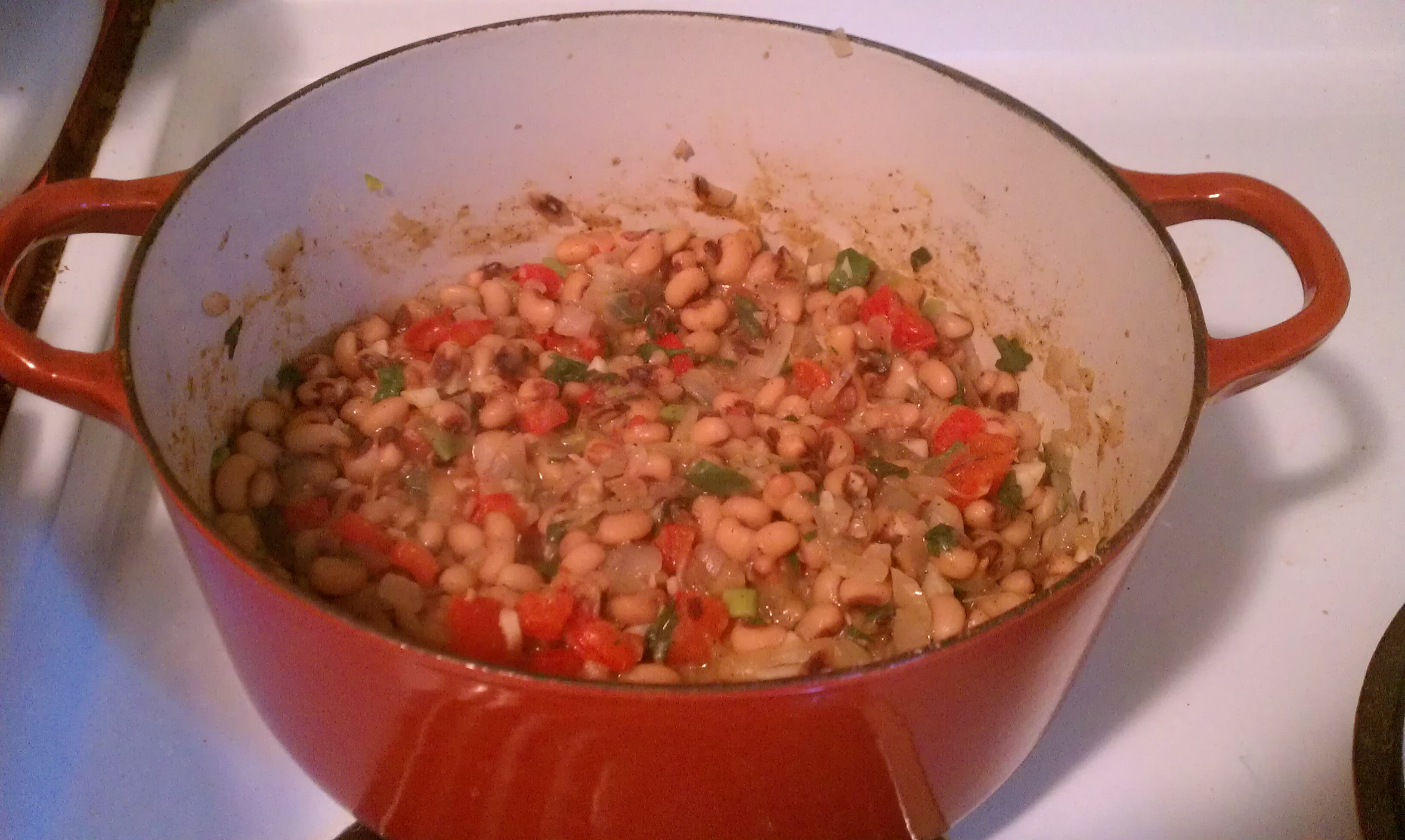 Musings from Marilyn » Making Lucky Hoppin' John