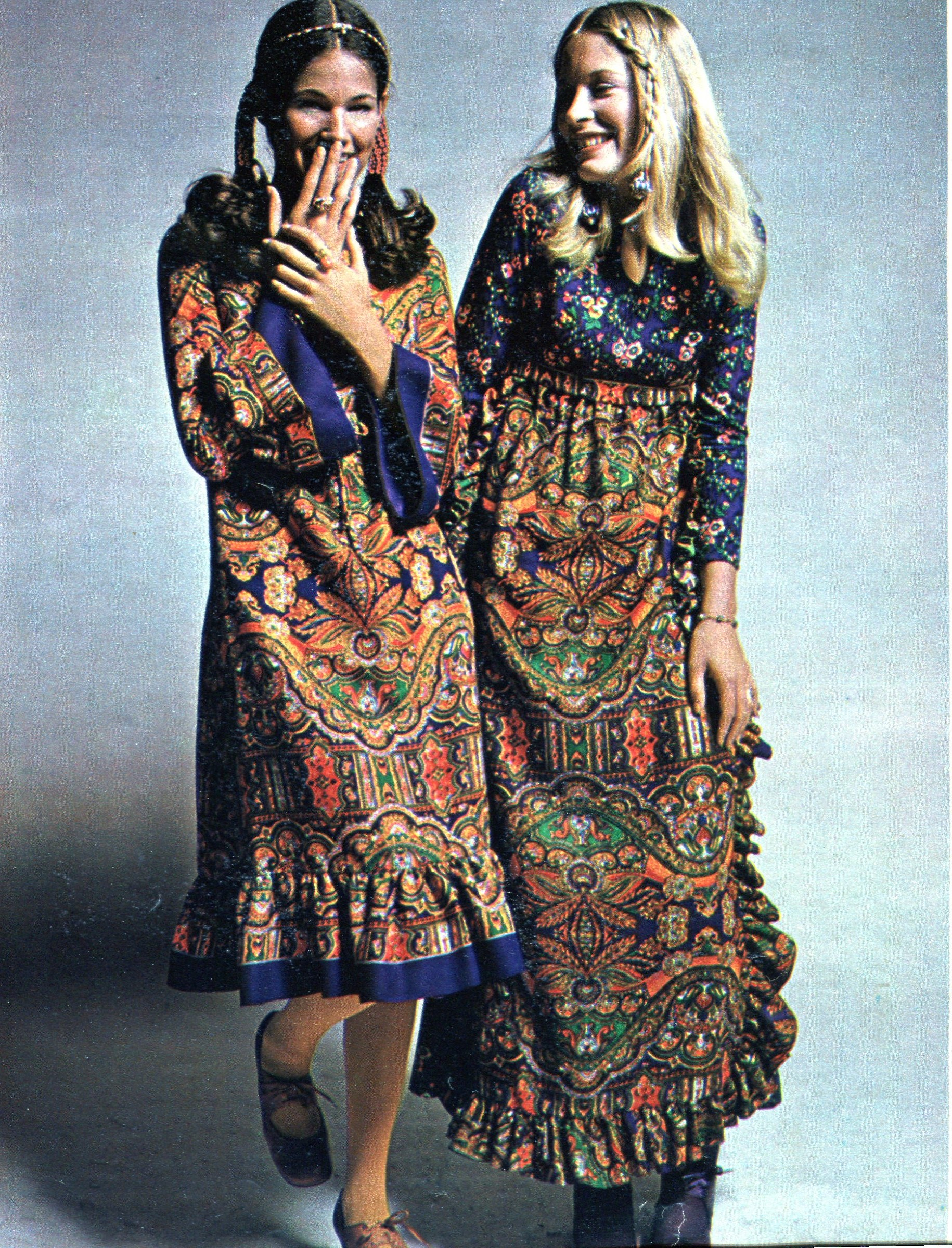 Musings From Marilyn Seventeen Magazine S Boho Peasant Look Of 1970