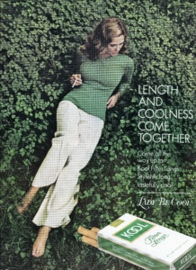You've Come a Long Way, Baby: Cigarette Ads of 1972. Kool | FINNFEMME