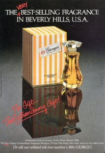 """The """"It"""" Perfumes of 1985   Giorgio of Beverly HIlls } Finnfemme"""
