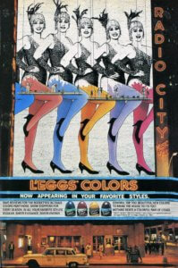 The Rockettes and L'eggs Colors Pantyhose, 1985   Musings from Marilyn-Finnfemme