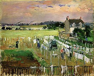 clothesline painting