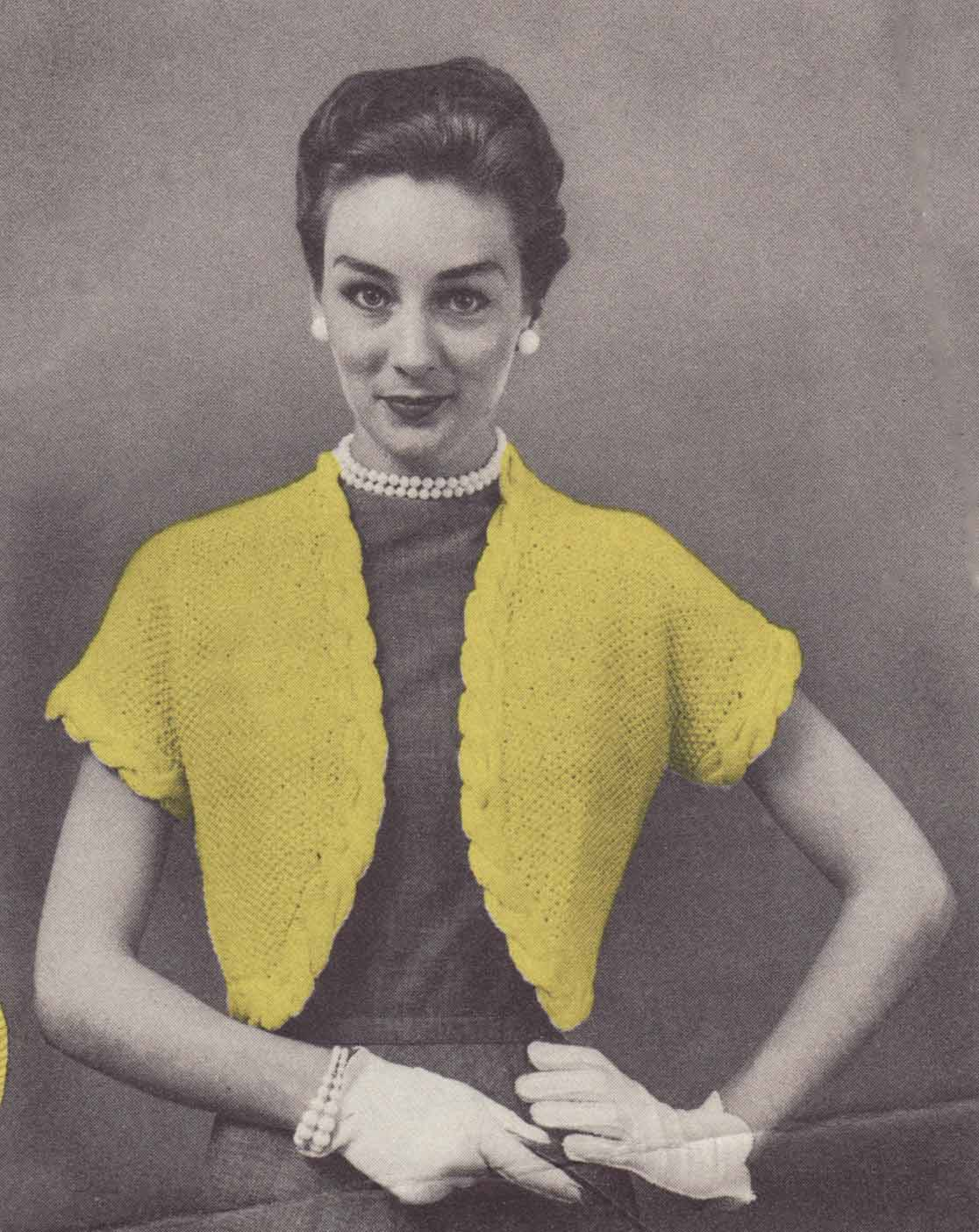 Musings from Marilyn » Knit a Vintage 50s Version of Kate\'s Angora ...