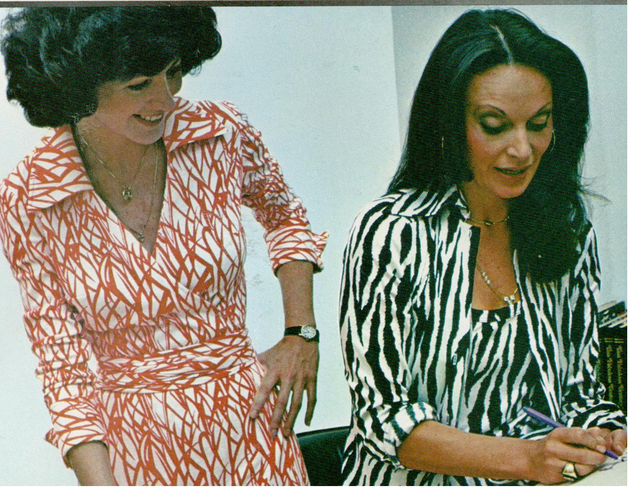 Musings from Marilyn » Diane von Furstenberg and the Iconic &3970s ...