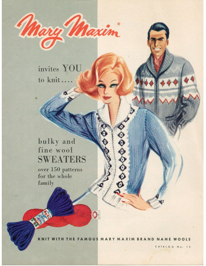 Vintage Mary Maxim Knits Catalog