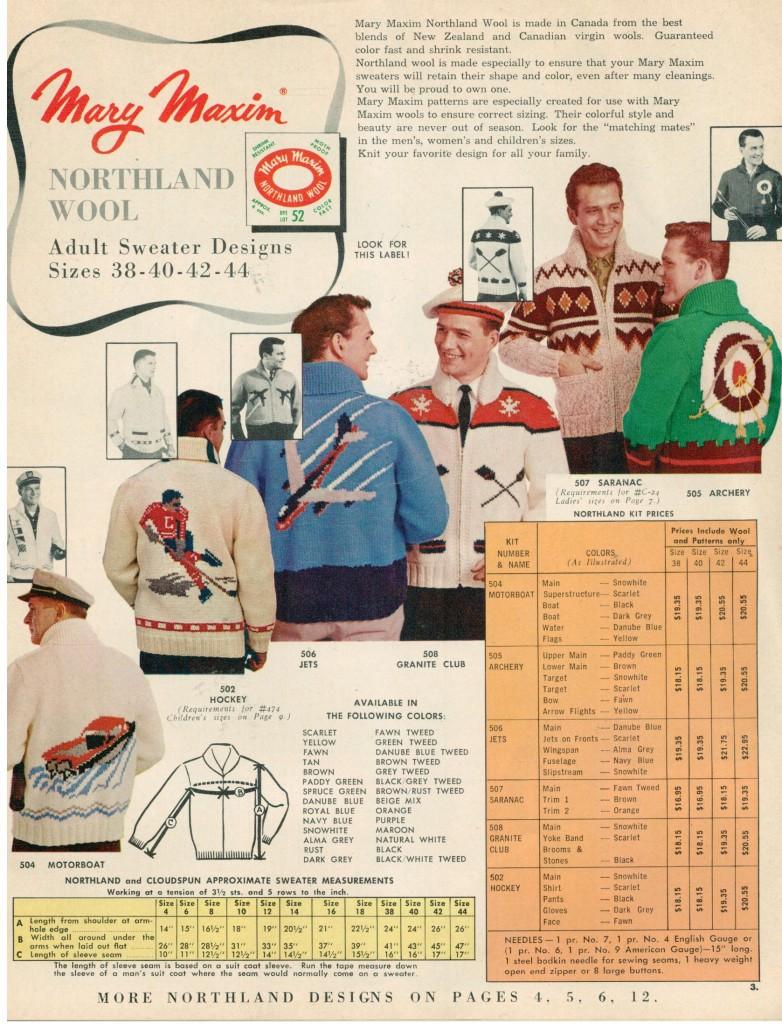 Vintage Mary Maxim Sweaters
