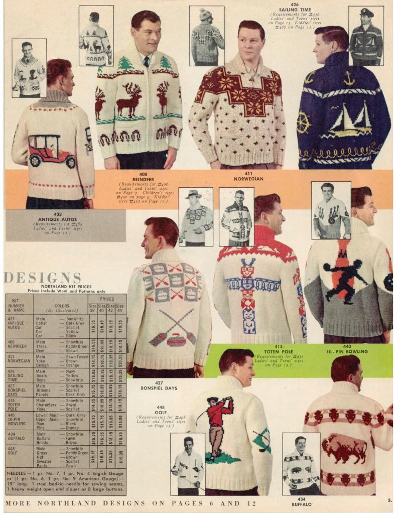 Vintage Mary Maxim Sweaters 2