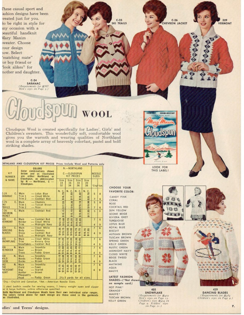 Vintage Mary Maxim Sweaters 3
