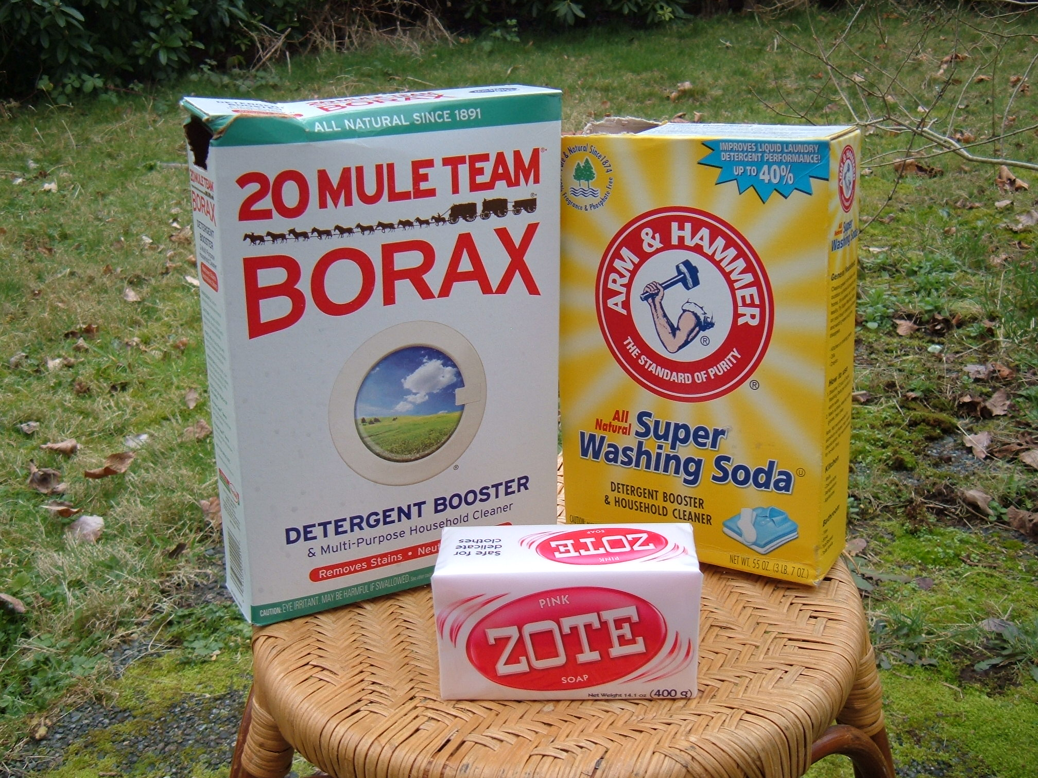 Easy Homemade Laundry Detergent Using