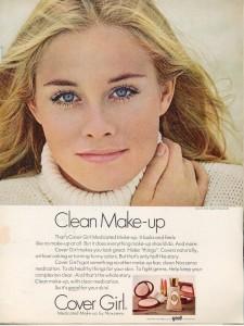 Cybill Shepherd-Cover Girl Ad 1969