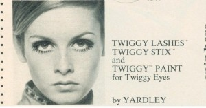 Twiggy - Yardley of London 1968