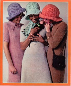 Angora Sweater Dress 1970