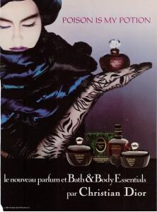 Poison Perfume Ad 1987