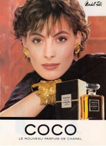 Ines del la Fressange COCO ad 1987