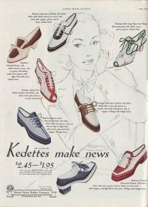 1939 Kedettes Shoes ad