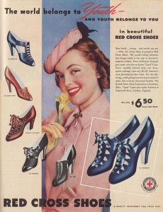 1939 Red Cross Shoes ad