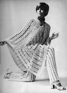 Vintage Poncho-Pants Crochet Pattern