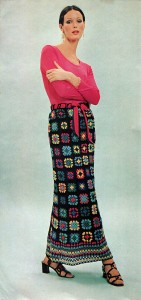 Granny Square Maxi Skirt Pattern
