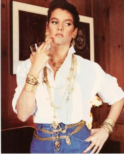 Vintage 1987 Chanel Jewelry-Carey Lowell