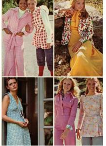 1973 Vintage fashions