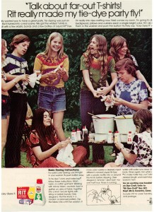 Rit Dye Tie-Dye 1973