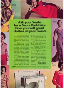 Sears Sewing Machine 1973