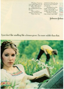 Johnson & Johnson Baby Powder 1973