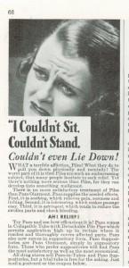Vintage Pazo Piles Ad 1936