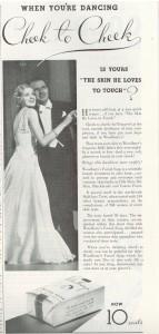 Vintage 1936 Woodbury Soap ad