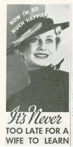 Vintage Zonite Ad 1936