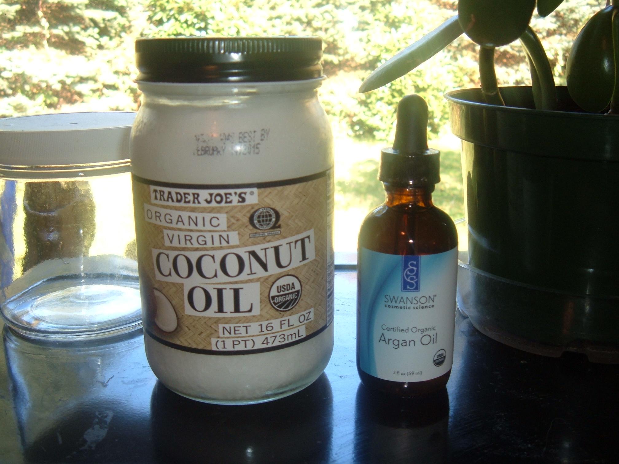 Easy Homemade Whipped Coconut Oil~Argan