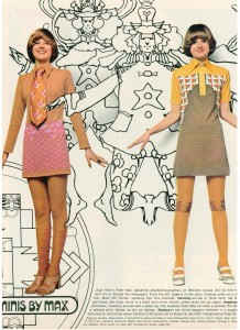 Peter Max 1970 Fashions