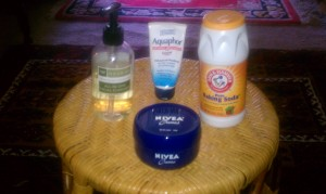 Cold Weather Skin Care - Nivea, Aquaphor