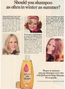 Johnson's Baby Shampoo Ad - Winter 1973