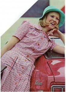 Vintage 1972 fashions