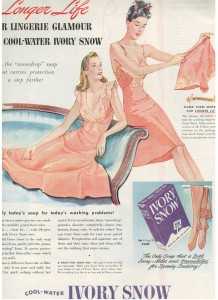 Finnfemme - 1945 Ivory Snow Ad