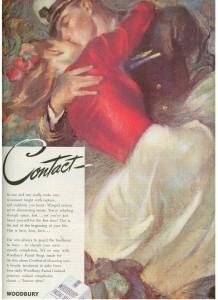 Finnfemme - 1945 Woodbury Soap ad