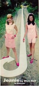 Pink Vintage 1969 Fashions