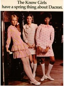 Pink Vintage 1969 Dress Fashions