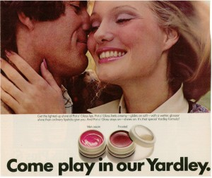 Yardley of London Pot o' Gloss 1973