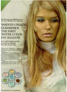 Yardley of London Glimmerick eye shadow 1968