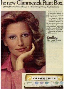 Yardley of London Glimmerick Paint Box 1972