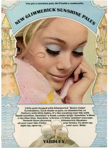 Yardley of London Glimmerick eye shadow vintage 1969