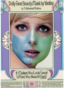 Yardley of London Dolly Face vintage 1968