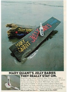 Mary Quant Jelly Babies makeup vintage 1973