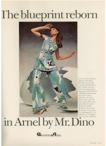 Mr. Dino pantsuit 1969